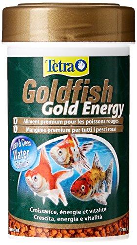 REBAJÓN en este bote de comida para peces Tetra Goldfish Gold Energy (100 ml)