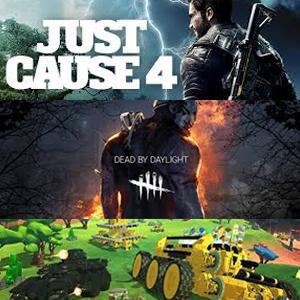 Juega Gratis: Dead by Daylight: Edición especial, Just cause 4 y TerraTech (Xbox)
