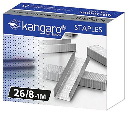 Kangaro - Número de grapas 26/8 – 1000 unidades)