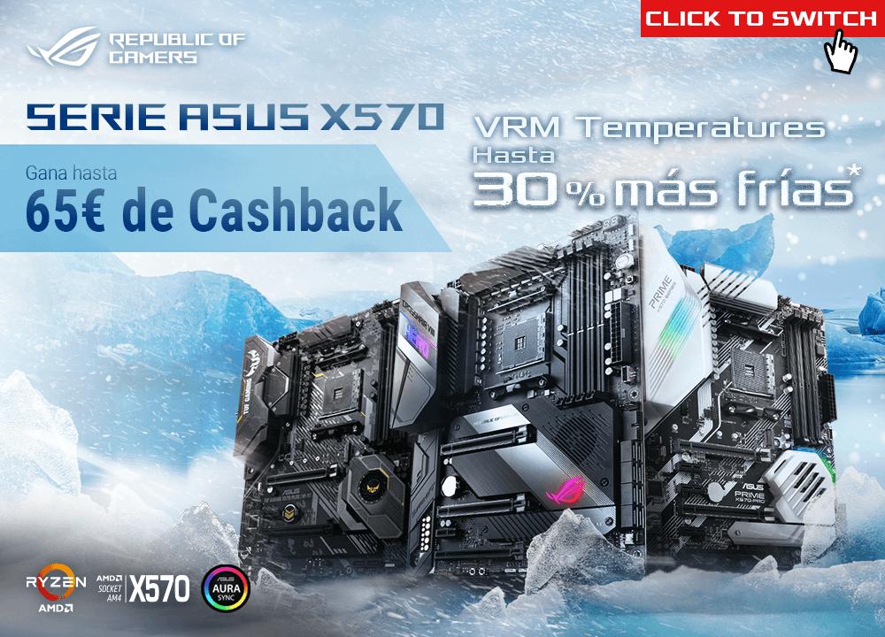 PROMOCIÓN EN PLACAS ASUS X570