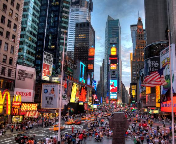 Enero Nueva York: 5 días, céntrico hotel con desayuno y vuelos desde 549€/p