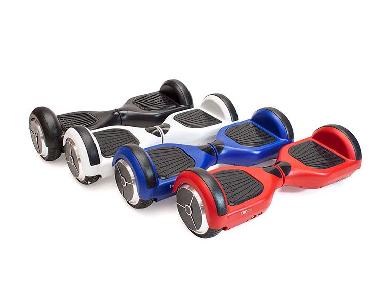 Hoverboard TANGO con altavoz, luces, bolsa de transporte y mando a distancia