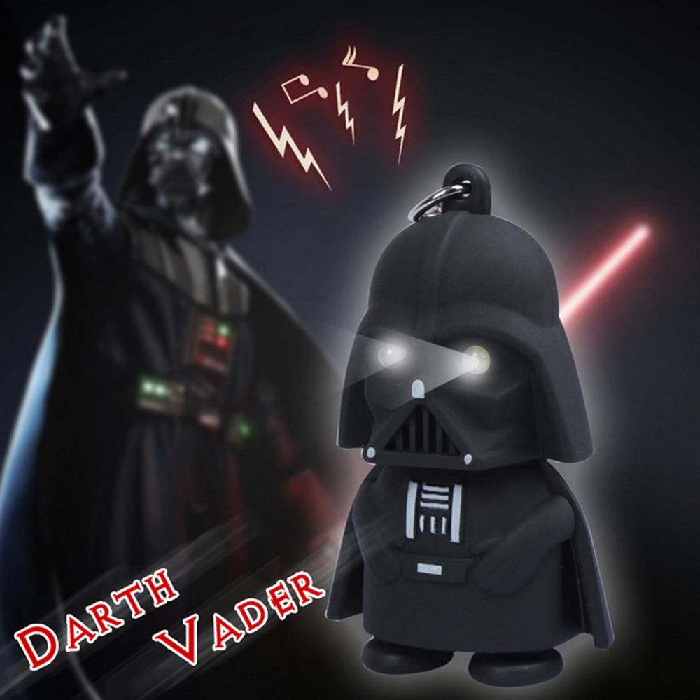 Llavero de Darth Vader con luz por 28 céntimos