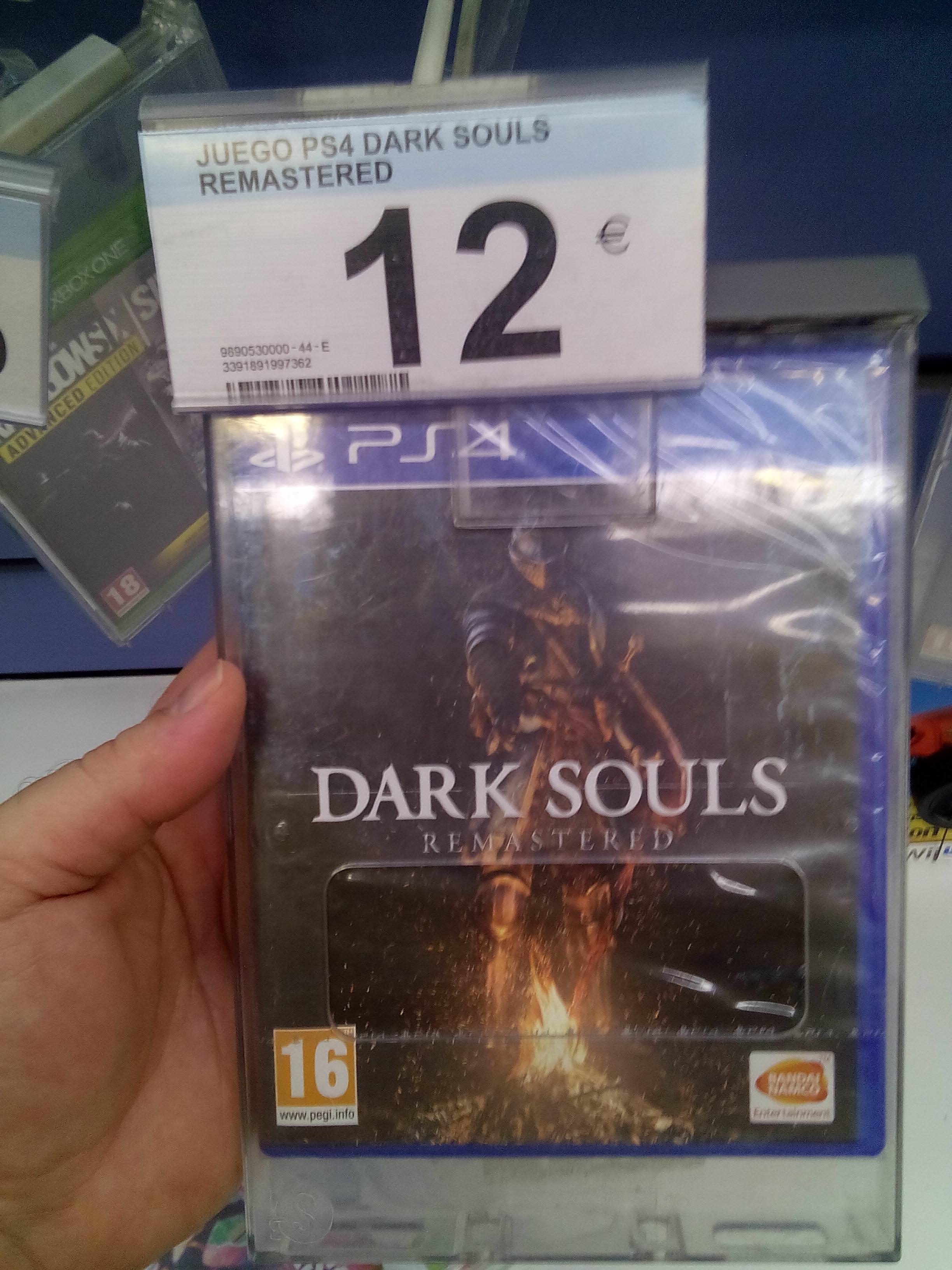 Dark Souls Remastered (Carrefour de Huelva)
