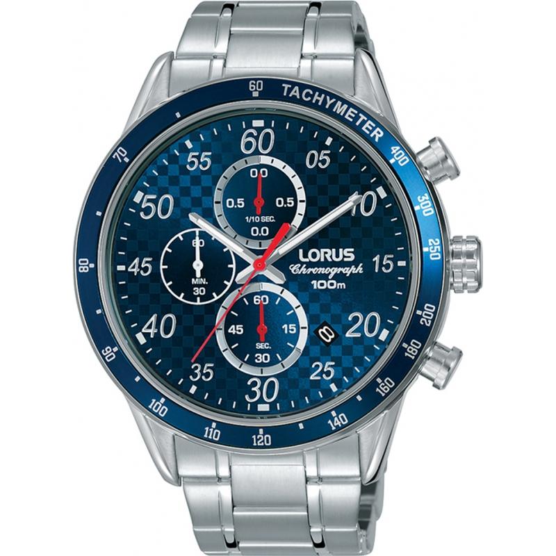 Lorus Reloj Cronógrafo para Hombre de Cuarzo con Correa en Acero Inoxidable RM329EX9