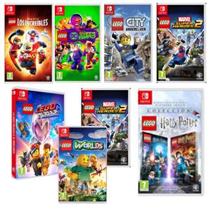 Carrefour: 7 Juegos Lego Nintendo Switch a 19,90€
