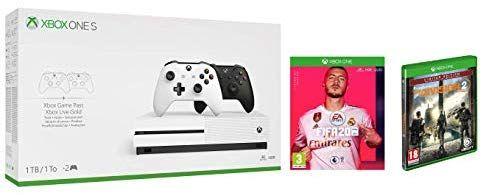 Xbox One S 1TB + 2° mando +  The Division 2 + Fifa 20