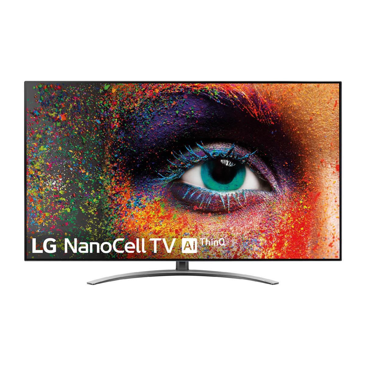 "TV LED 139 cm (55"") LG 55SM9010PLA NanoCell 4K, HDR Smart TV con Inteligencia Artificial (IA)"