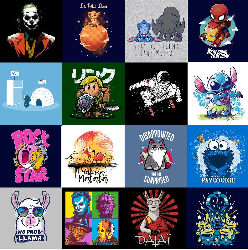 3X Camisetas Pampling random 12€