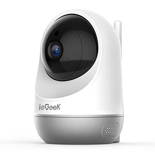 ieGeek Cámara WiFi IP de Seguridad, cámara inalámbrica para Mascotas
