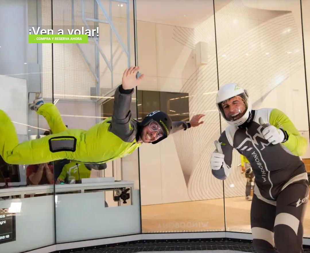 Skydiving Indoor MADRID