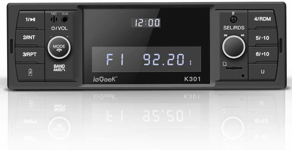 Amazon: estéreo para coche Bluetooth SD/AUX/USB