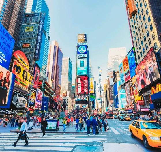 Noviembre Vuelo Nueva York por 67€ trayecto