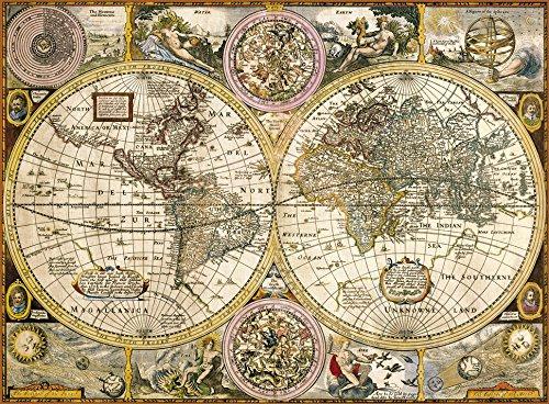 Mapa Antiguo - Puzzle 3.000 piezas Clementoni