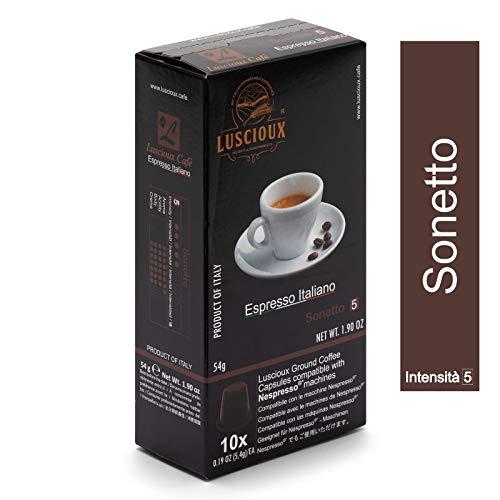 100 cápsulas de café de buena calidad compatibles Nespresso