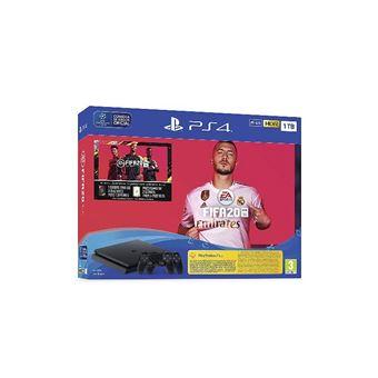 PS4 Slim 1TB + FIFA 20 + FUT + PS Plus 14 Días + 2 DualShock4