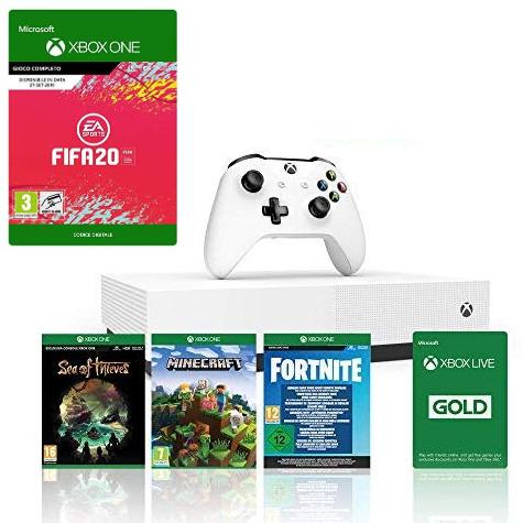 Xbox One S 1TB +4 juegos solo 179€