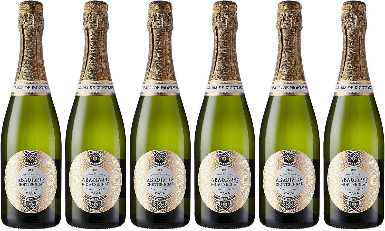 6 Botellas de Cava Abadía de Montserrat Brut Reserva - 750 ml. - Total: 4500 ml.