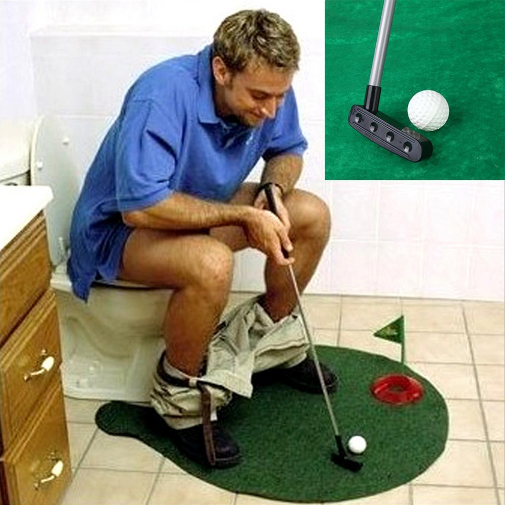 Set de golf para tu baño