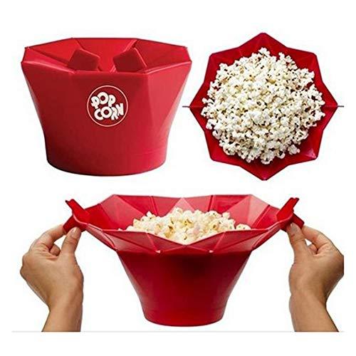 Palomitero Popcorn Silicona Microondas