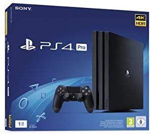 PS4 Pro por 316€ desde Amazon Alemania