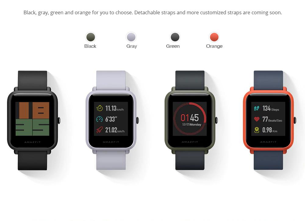 Reloj Xiaomi Amazfit Bip por 49,88€ en Aliexpress España