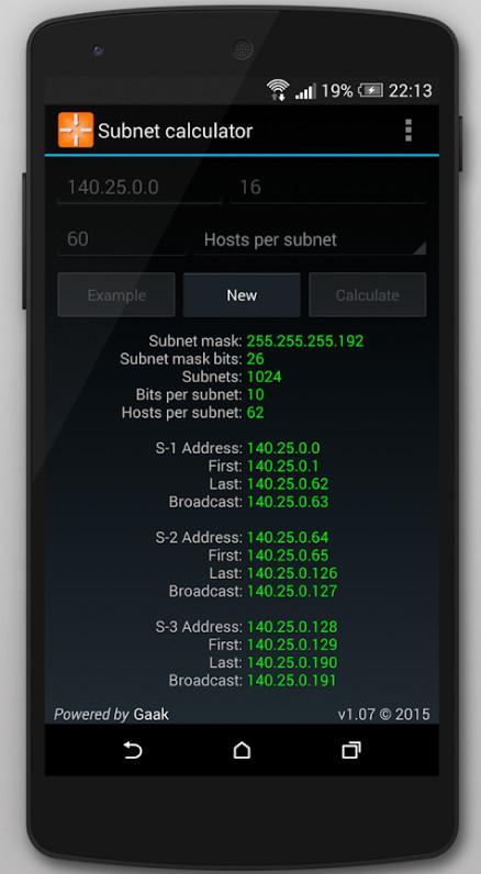 ANDROID: 3 Calculadoras para Adm. de redes (VLSM, Subnet e IP Subneteo Práctica) - GRATIS