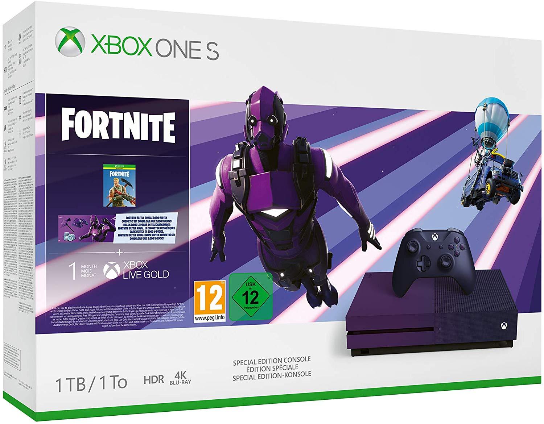 Xbox one S Edición Fornite 194€