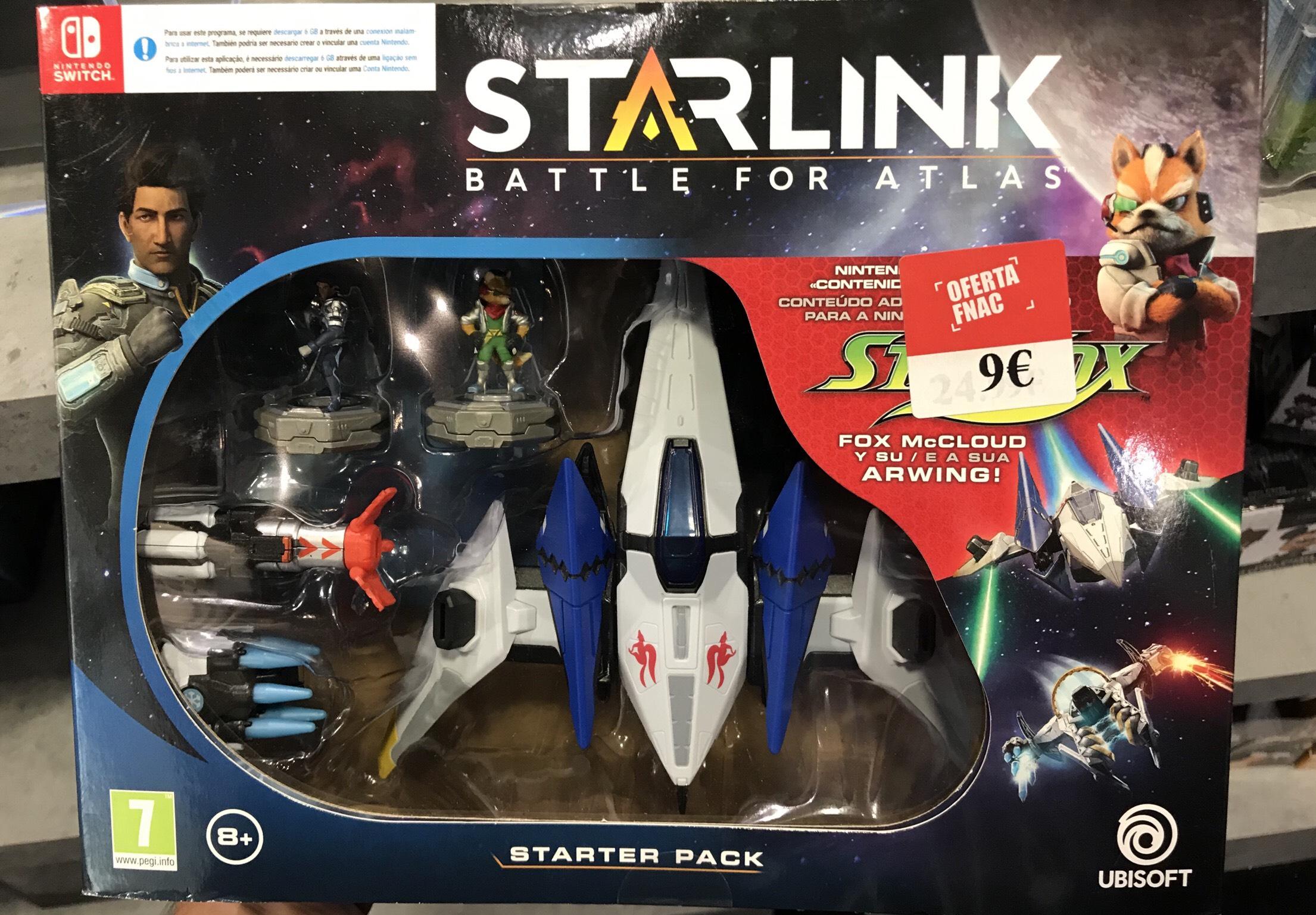 Starlink Starter pack switch fnac plaza norte 2