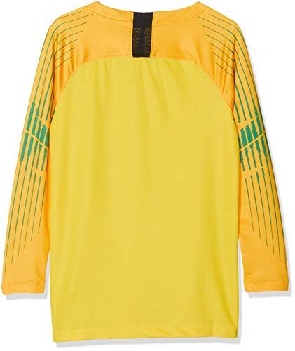 Nike Gardien Long Sleeved t-Shirt, Unisex niños, Black/(Volt) (no Sponsor), S