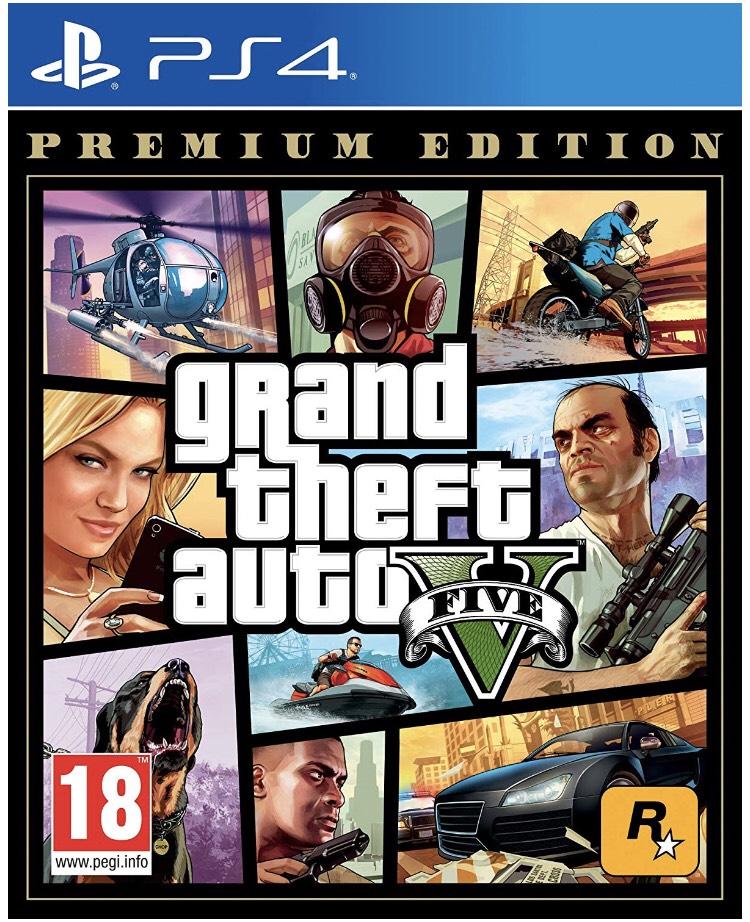 Precio mínimo GTA V edición premium PS4