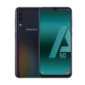 Samsung Galaxy A50 6,4'' 4GB RAM y 128GB Negro