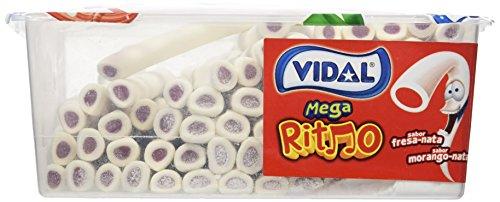 Regalices Vidal Mega Ritmo Fresa Y Nata - 1645 gr