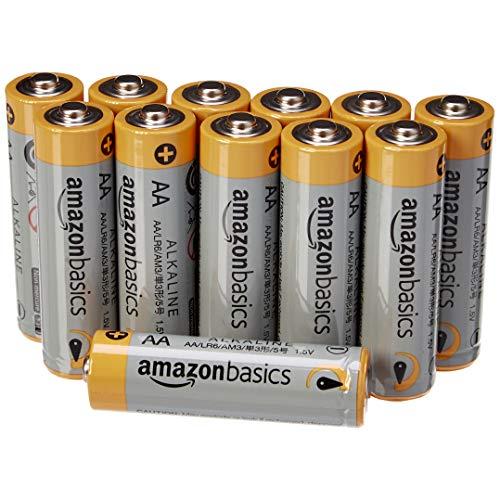 AmazonBasics - Pilas alcalinas AA 'Performance' (Paquete de 12)