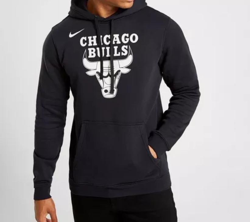 Sudadera con capucha Nike NBA Chicago Bulls Fleece