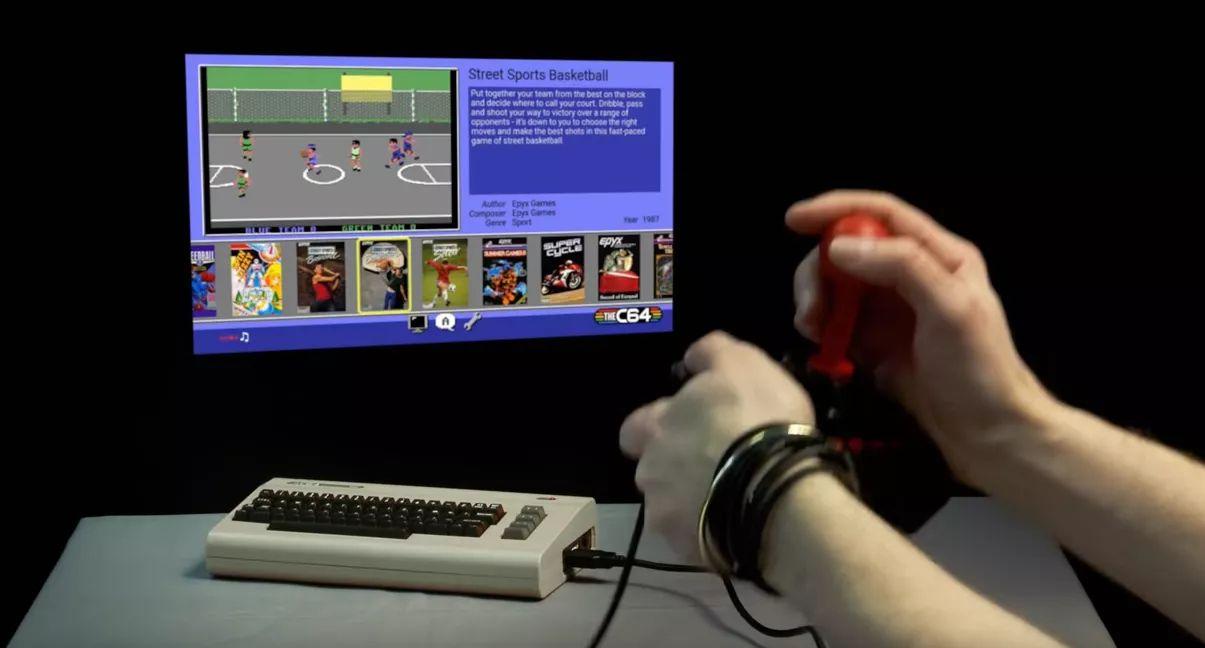 Commodore 64 Mini con 64 juegos