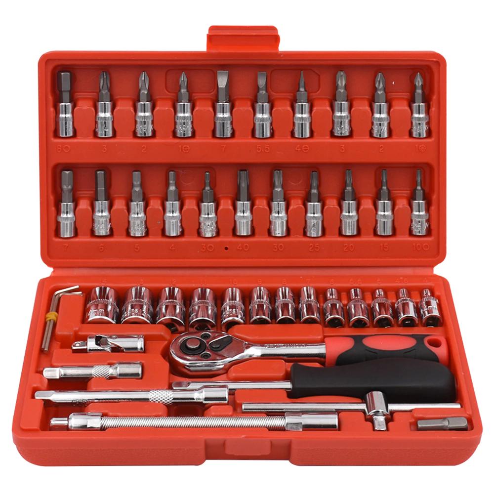 Maletín de herramientas 46 piezas