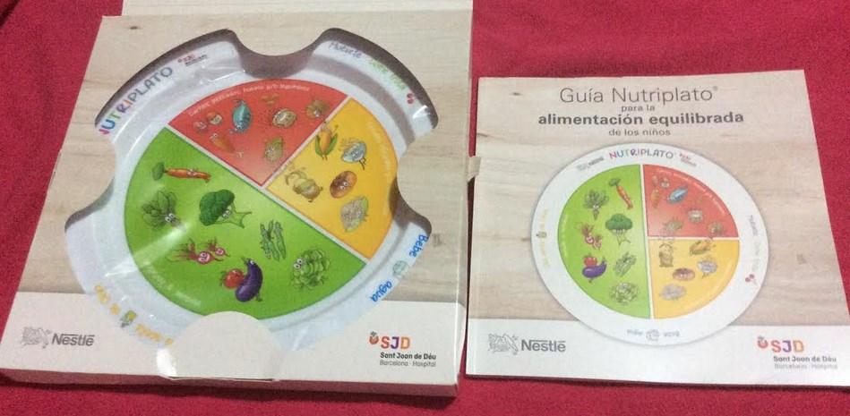Plato infantil GRATIS y guía de alimentación para niños