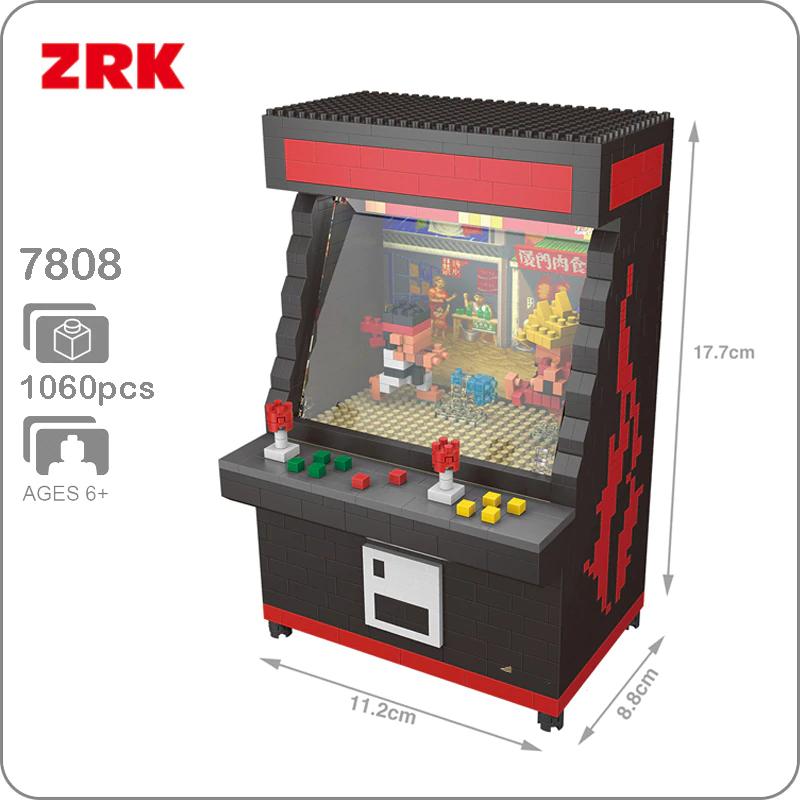 "Máquina ""simil LEGO"" Street Fighter"
