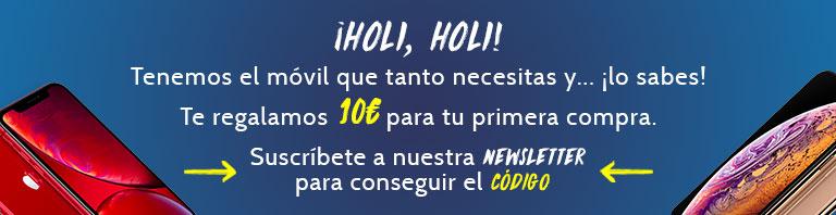 10€ de descuento en móviles reacondicionados