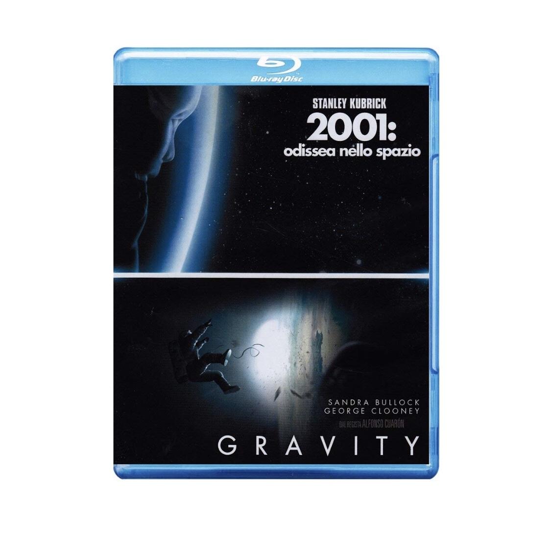 Gravity + 2001 Blu-Ray (Italia) (Castellano)