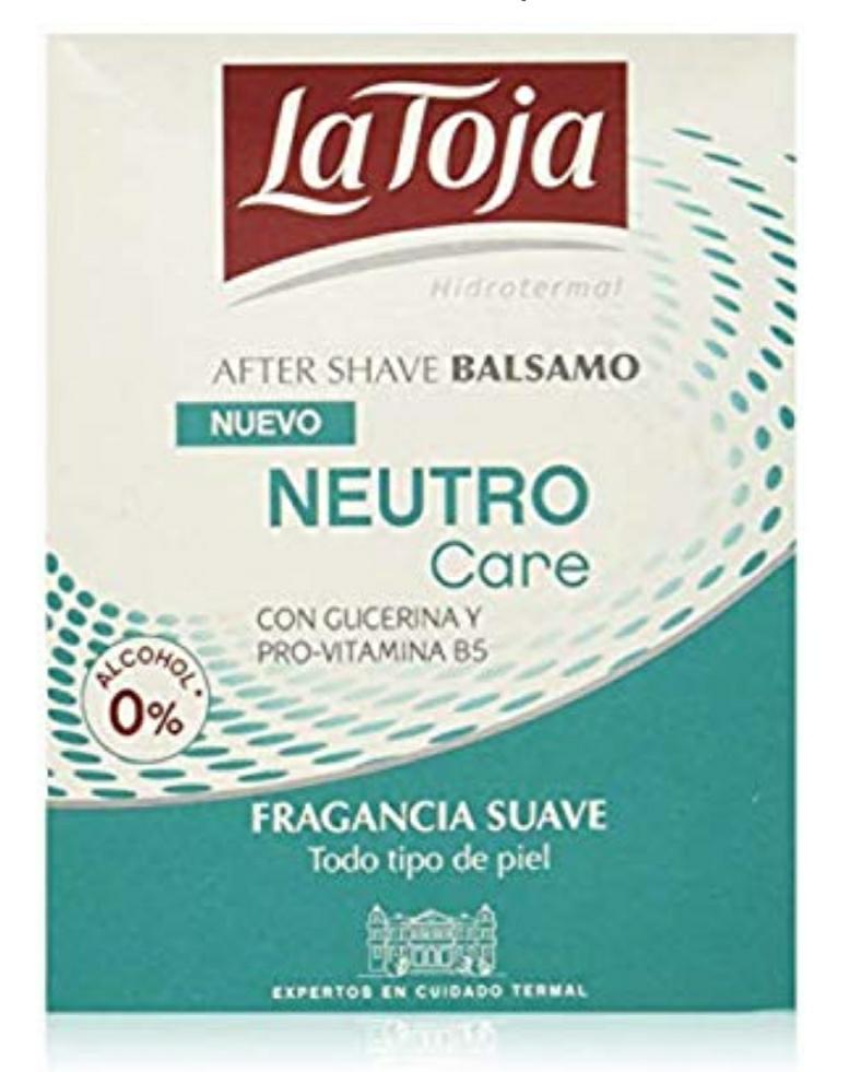 La Toja - After Neutro Care - 100ml (pack de 6) Total: 600ml