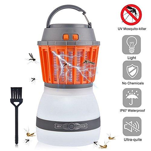 Lámpara de Camping LED anti mosquitos resistente al agua