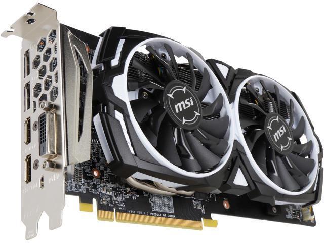 Tarjeta Gráfica AMD MSI Radeon RX 580 Armor OC 8GB GDDR5