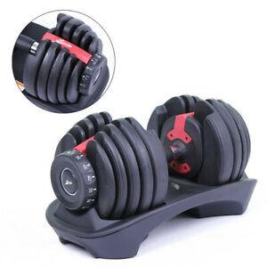 Mancuerna ajustable de 2-24 kg (1 unidad) fitness musculacion