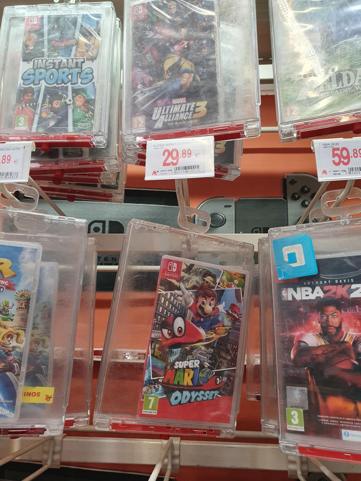Juego de Mario para la Nintendo switch Alcampo Utebo (Zaragoza)