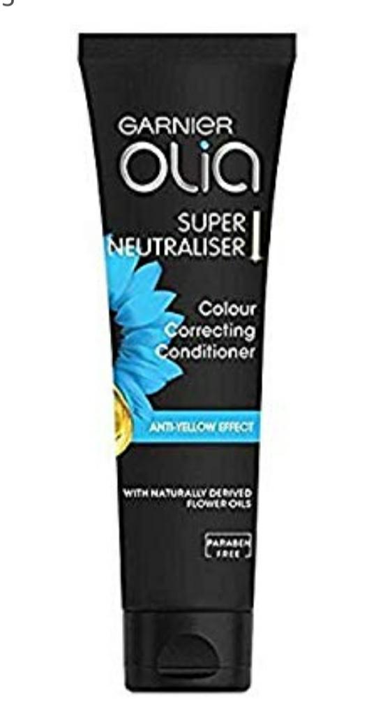 Garnier Olia Super Neutraliser acondicionado de corrección de color, pack de 3
