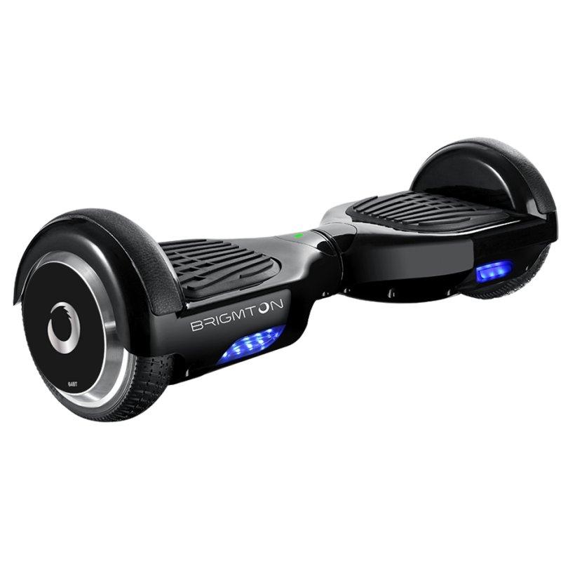 """Brigmton BBOARD-64 6.5"""" Negro - Hoverboard - Reacondicionado"""
