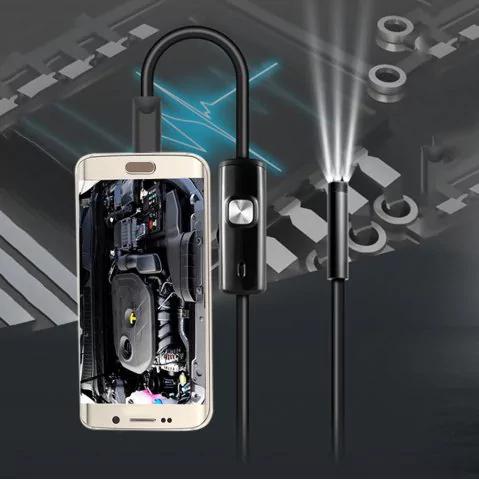 Endoscopio para dispositivos Android Waterproof IP67