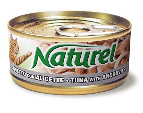Naturel lata de Atún con anchoas para gatos 70 gr